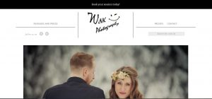 wix photography screen grab